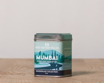 Mumbai Loose Leaf Tea Blend - Spice Garden Chai Black Tea - 50g tin