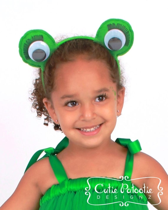sc 1 st  Etsy & READY TO SHIP: Enchanted Toad Frog Eyes Costume Headband