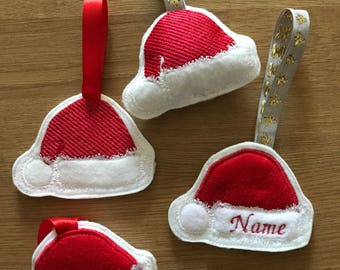 ITH Santa hat Tree Decoration