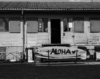 Fine art limited edition Black and white film photography - Aloha