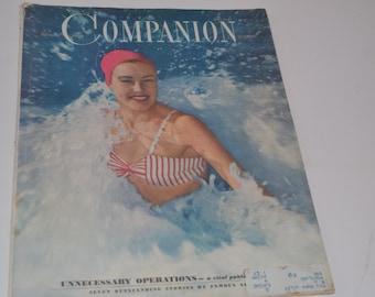 Vintage July 1947 Woman's Home Companion Magazine