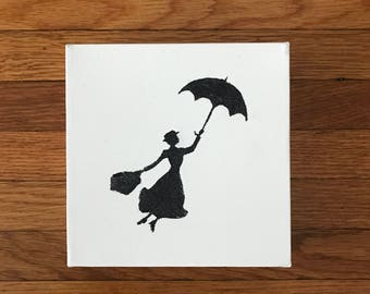 Disney Character Silhouette - Mary Poppins