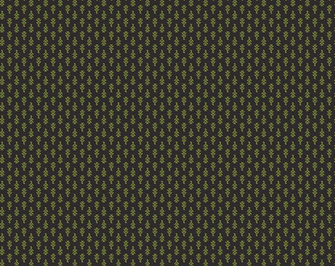 Lampblack - Arrowheads Green 8481K - 1/2yd