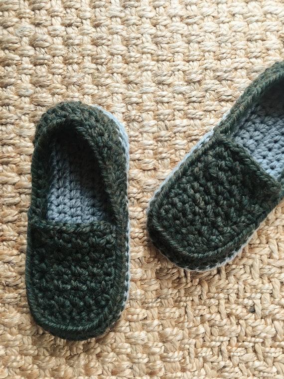 Vatertag Loafer Herren Hausschuhe häkeln häkeln stricken