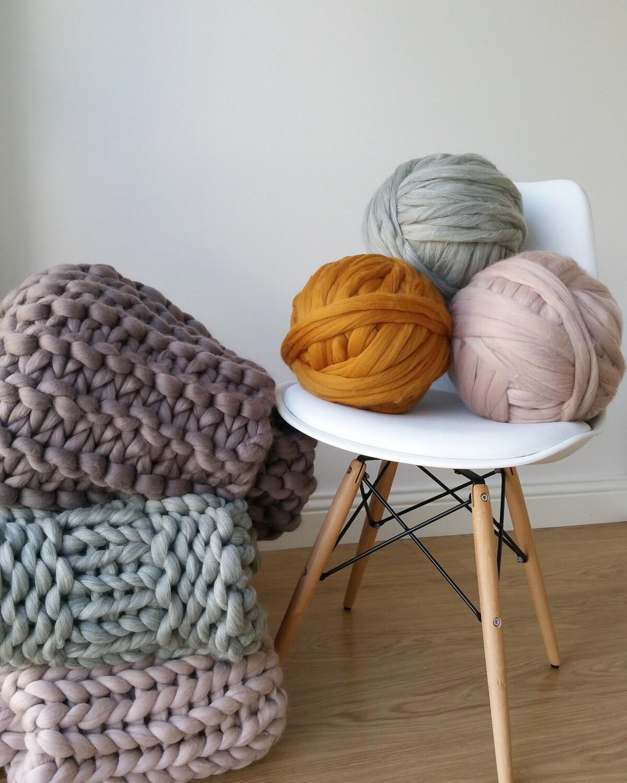 grey arm knitting super bulky chunky jumbo yarn 500g xxl wool. Black Bedroom Furniture Sets. Home Design Ideas