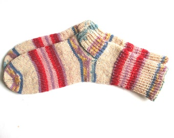 Knitted socks for women, knit socks, wool socks women
