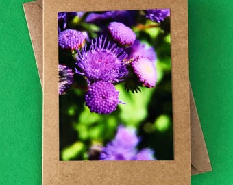 Handmade note card - blank card - greeting card - any occasion card