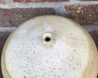 Vintage Handmade Pottery Orb