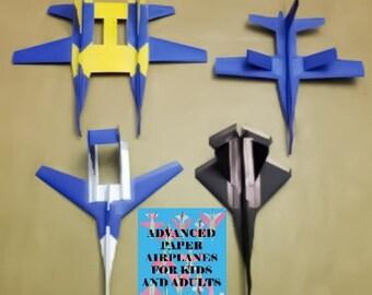 Advanced Paper Airplane book & plane