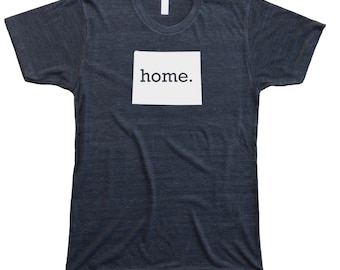 Homeland Tees Men's Wyoming Home T-Shirt