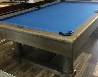 Nantucket Pool Table   Perfect Combination Of Rustic Elegance