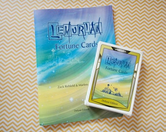 Vintage 1995 Lemurian Fortune Cards Deck Box and Booklet