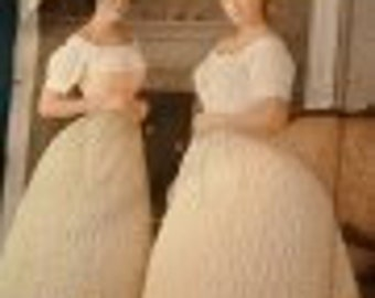 Simplicity (The Fashion Historian) Pattern 7216/misses' crinoline hoop skirt in two widths (Civil War Era)