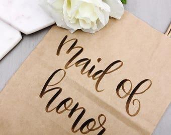 Custom Gift Bags | Calligraphy | Wedding Gift