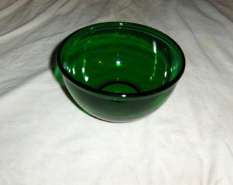"""Forest Green 6"""" mixing bowl"""
