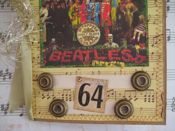 Beatles Birthday Card When Im 64 Sgt Peppers