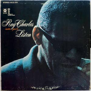 Ray Charles Invites You To Listen - ABC Records - ABCS-595 Vg/Vg+
