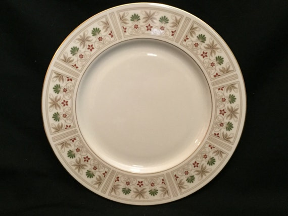 """FREE SHIPPING-Fabulous-Lenox-Tableau-10 1/2""""-Made In USA-Dinner Plate"""