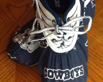 Bowling Shoe Covers (one Pair) Dallas Cowboys Unisex Must Have!