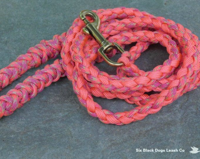 6 Foot Double Wrapped Handle Snap Bolt Leash