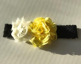 Handmade newborn headband