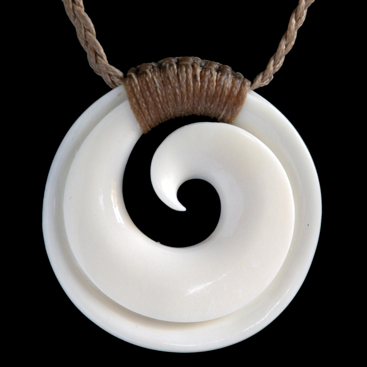 products koru inspired heart necklace img pendant