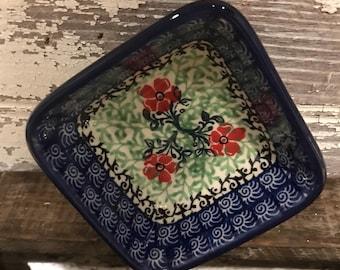 Polish Pottery small dish