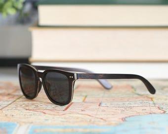 Wooden Sunglasses | Men's Wooden Sunglasses | Walnut Wood Sunglasses