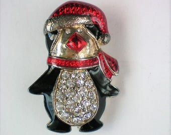 Penguin Pin for Christmas / Hanukkah Holidays - 5706