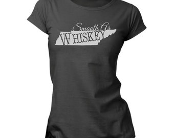 Smooth As Tennessee Whiskey t-shirt Vinyl