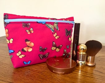 Handmade Large Cosmetic Bag