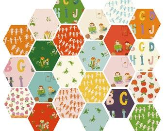Kinder Fat Quarter Fabric Bundle of 23