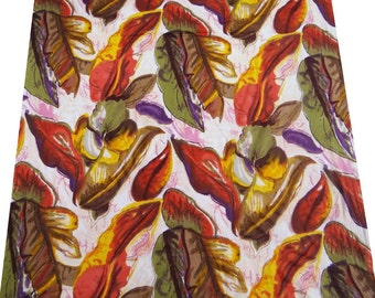 Indian Dressmaking Pure Cotton Off White Cotton Fabric Floral Pattern Cushion Pillow Drape Dress Quilt By 1 Yd ZBC657