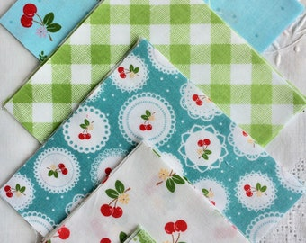 Sew Cherry, by Lori Holt of Bee in my bonnet, for Riley blake dedigns.