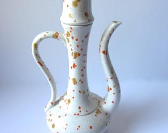 SALE* Midcentury Stippled Tea Pot *RARE*