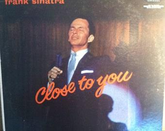Frank Sinatra Close To You Vinyl Mono Jazz Record Album