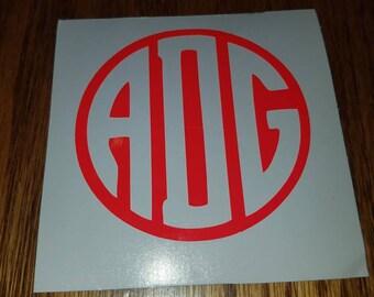Circled monogram