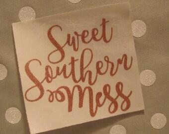 Rose Gold Yeti Sticker // Sweet Southern Mess