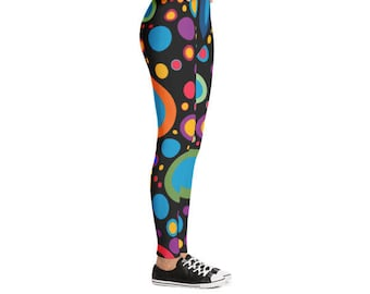 Colorful Bubbles Leggings | Women Leggings | Yoga Leggings | Fitness Leggings | Outfit Leggings | Beautiful Leggings | Pilates Leggings