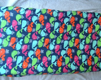 Whale Changing Pad Cover