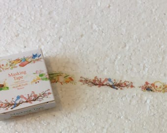 Birds in the Forest Washi Tape