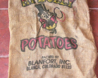 Hi Dolly Brand Burlap Potato Sack