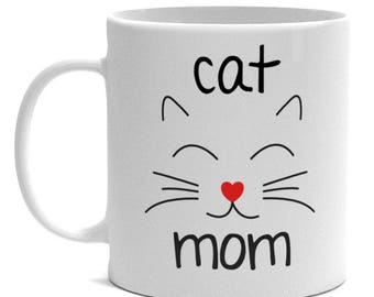 Cat Lover Gifts - Cat Mom Mug
