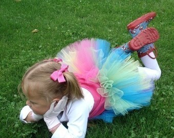 Fairy Princess and Ballerina TuTu, IMMEDIATE DOWNLOAD of PDF sewing pattern