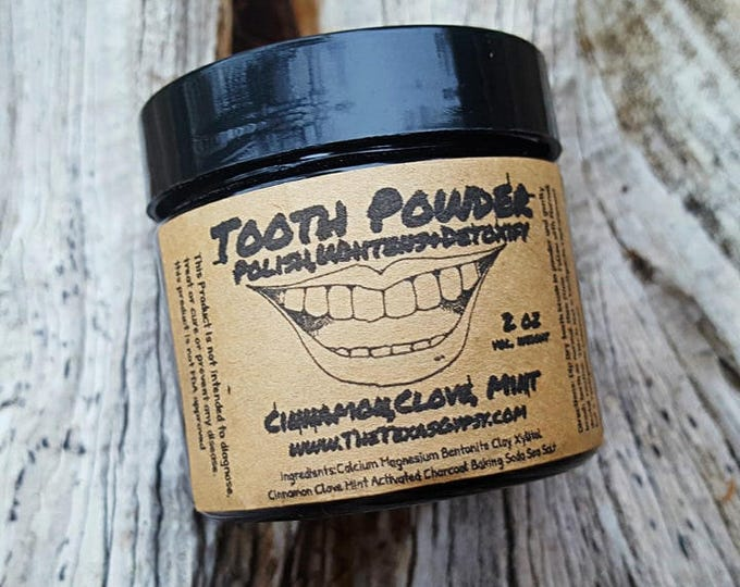 Featured listing image: Charcoal Tooth Powder All Natural