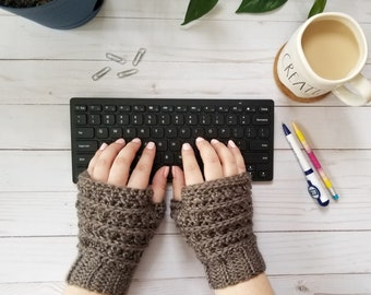 Fingerless Mittens, Fingerless Gloves, Crochet Handwarmers, Fingerless Mitts, Knit Mittens, Chunky Mittens, Wristwarmers, Texting Gloves