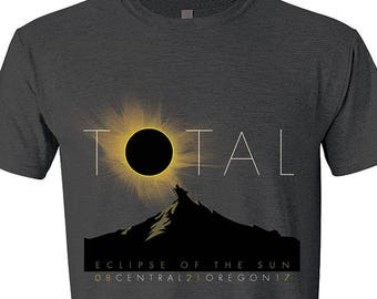 Total Eclipse of the Sun Commemorative T-Shirt