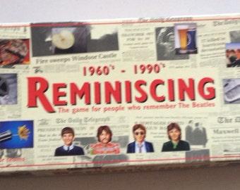 Vintage 1996 Reminising game
