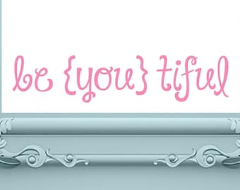 Bathroom Decal | Mirror Decal | Bathroom Wall Decal | Bathroom Sign | Bathroom Decor | Girls Bedroom Decal | Girls Wall Decal