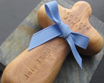 Baptism Gift Godparents. Custom Child Cross. Boy Baptism. Girl. Personalized. Christian Toy. Natural Olive Wood.